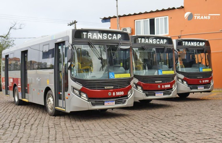 Transcap renova parte da frota com 30 novos ônibus Caio Apache Vip Volks