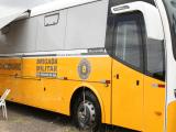 RS: Ônibus do Comando Rodoviário da Brigada Militar é utilizam em ação em Viamão