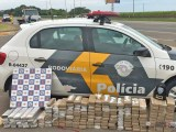 SP: Polícia Militar Rodoviária apreende 130kg de entorpecentes em ônibus