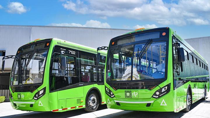 Caio exporta 87 novos ônibus para a Cidade do México