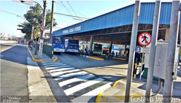 SPTrans muda temporariamente pontos do Terminal Casa Verde a partir de segunda-feira