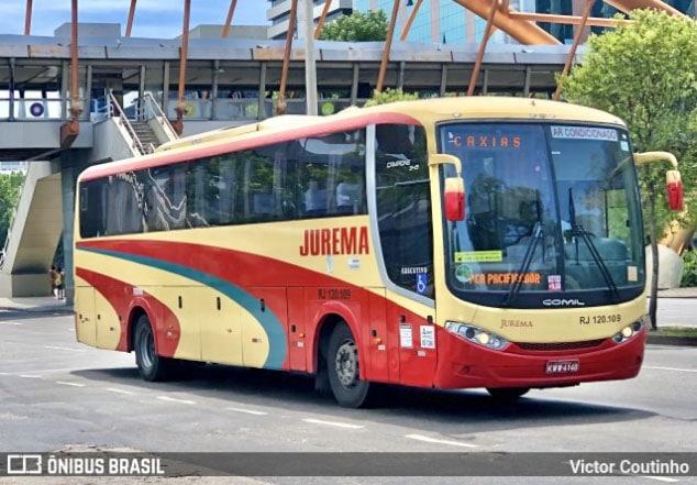 Rio: Criminosos assaltam ônibus da Viação Jurema e fazem passageiros reféns na Avenida Brasil