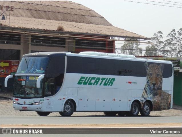RO: Acidente com moto e ônibus da Eucatur deixa um ferido