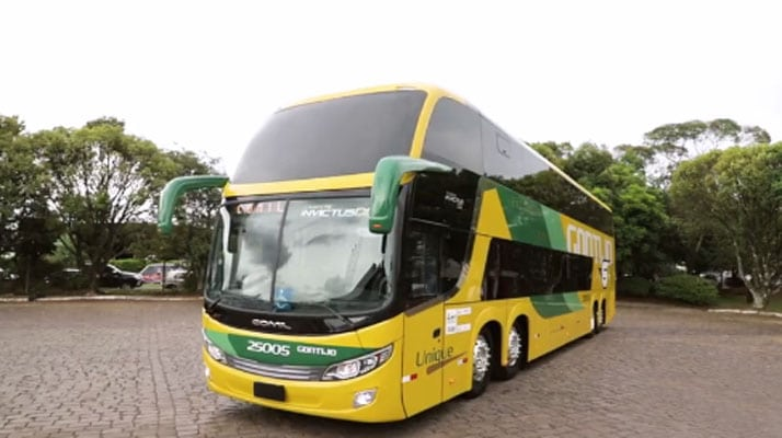 Surgiu finalmente o primeiro Ônibus DD Comil da Gontijo Transportes de forma oficial