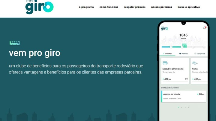Clube Giro chega ao mercado como primeiro programa de fidelização do transporte rodoviário