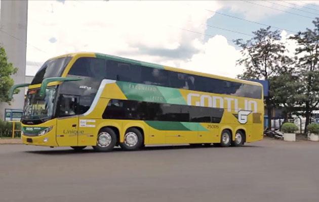 Vídeo: Comil divulga imagens dos novos ônibus Gontijo deixando a fábrica