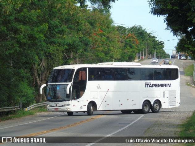 Viação Itapemirim escala G6 LD na Rio x Vitória x Rio