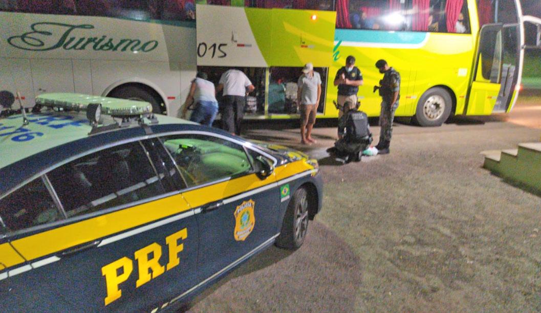 RS: PRF prende traficante procurado pela justiça na BR-287, em Santiago