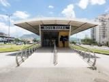 Rio: Prefeitura e BRT Rio reabrem estação Nova Barra na zona oeste da cidade