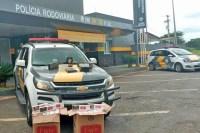 SP: Polícia Rodoviária Militar apreende mais de 100 pacotes de cigarros em ônibus