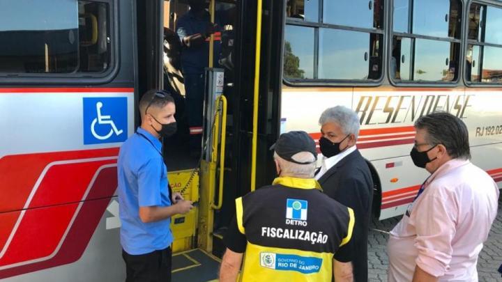 RJ: DETRO realiza operação em Resende e em Volta Redonda