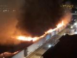 SP: Incêndio destrói prédio da antiga rodoviária de São José do Rio Preto