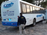 São Luís: PRF apreende ônibus com suspeita de clone
