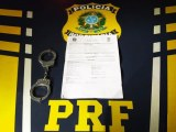 MT: PRF descobre três pessoas com mandado de prisão em aberto circulando em rodovia