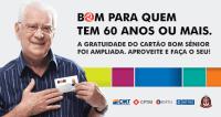 SP: Cartão BOM Sênior passa ser solicitado via WhatsApp e enviado gratuitamente