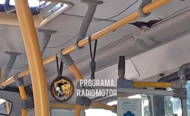 Rio: Ônibus em péssimo estado de conservação chama atenção de passageiros na Zona Oeste