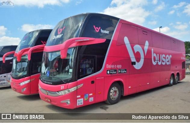 Buser informa que atingiu a marca de 2 milhões de passageiros transportados