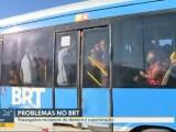 BRT Rio segue com problemas nesta manhã de terça-feira