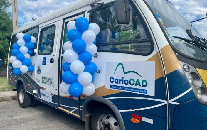 Rio: Micro-ônibus vai percorrer cidade para atualizar Cadastro Único