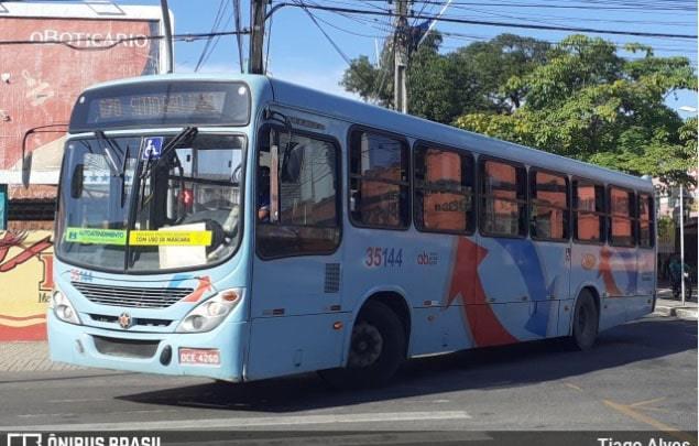 Fortaleza anuncia frota extra com mais de 200 ônibus para conter aglomerações