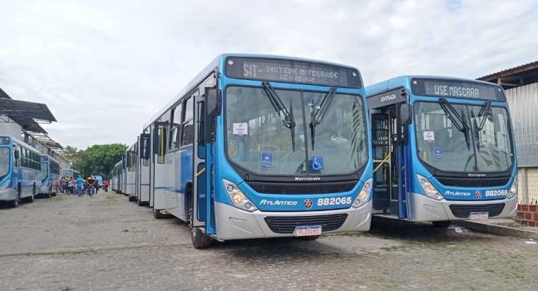 BA: Ônibus da Atlântico Transportes passam por vistoria em Itabuna