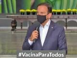 SP: João Doria determina toque de recolher em todo o estado para conter a propagação da covid-19. Transporte terá restrições
