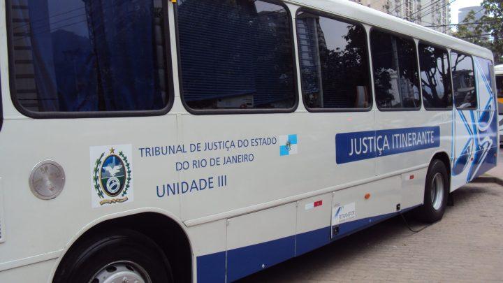 RJ: Ônibus da Justiça itinerante segue com calendário de atendimento atualizado