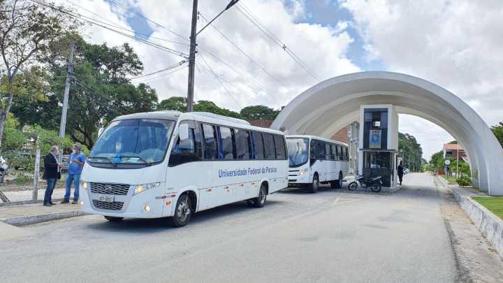 UFPB vai disponibilizar ônibus circular para comunidade universitária no retorno às aulas