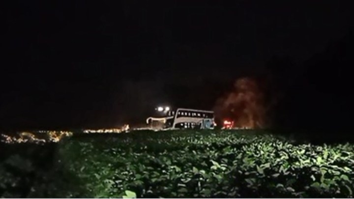 PR: Ônibus de turismo acaba sendo assaltado em Bela Vista do Paraíso