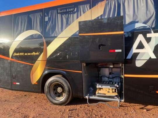 MS: Polícia Militar apreende entorpecentes em ônibus que seria levado para a cidade de Três Lagoas