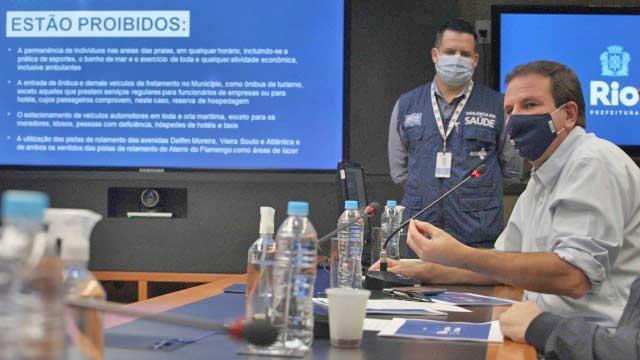 Rio: Lockdown prevê multa e até prisão para quem descumprir regras de novo decreto de Eduardo Paes