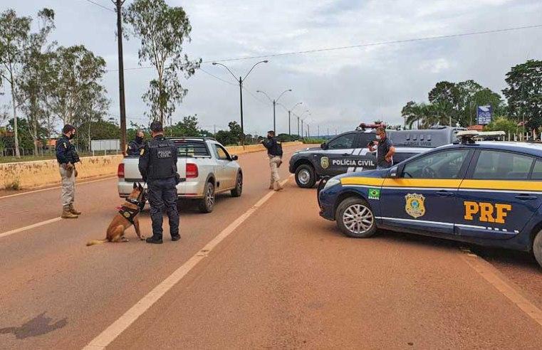 Porto Velho: PRF e Denarc realizam operação conjunta na capital