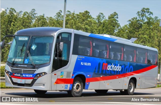 Transportes Machado renova frota com ônibus Busscar El Buss 320