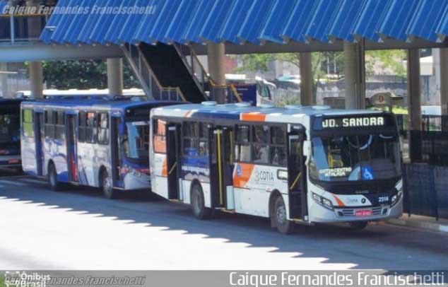 SP: Cotia segue com menos ônibus circulando por conta da fase emergencial
