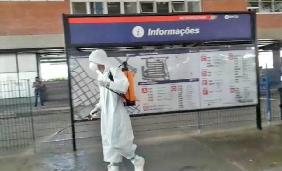 SP: Terminal Metropolitano Diadema terá sanitização para proteção contra o coronavírus – Vídeo