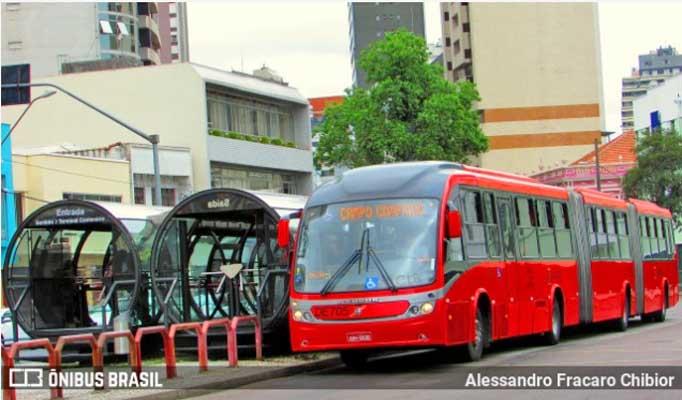 Curitiba: Fiscalizações do TCE/PR confirmam excesso de passageiros nos ônibus municipais