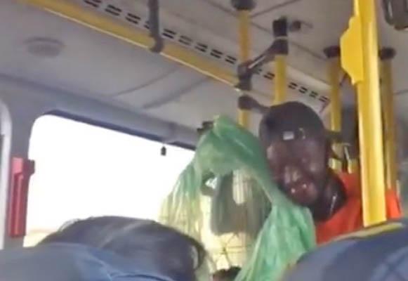 RJ: Homem ameaça soltar rato dentro de ônibus em Niterói e vídeo viraliza