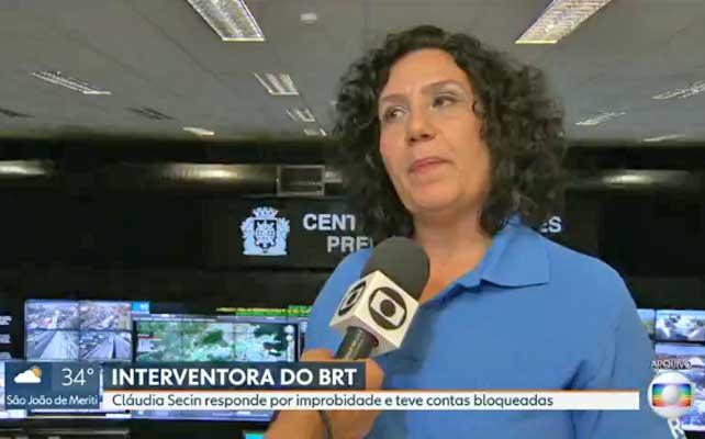 Rio: Interventora para o BRT Rio nomeada por Eduardo Paes, responde a processo por improbidade administrativa