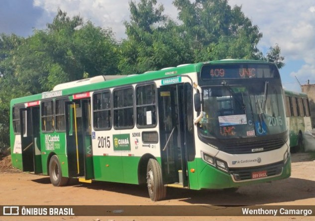 Cuiabá: Ônibus municipais seguem com 100% da frota circulando até 9 de abril durante o toque de recolher
