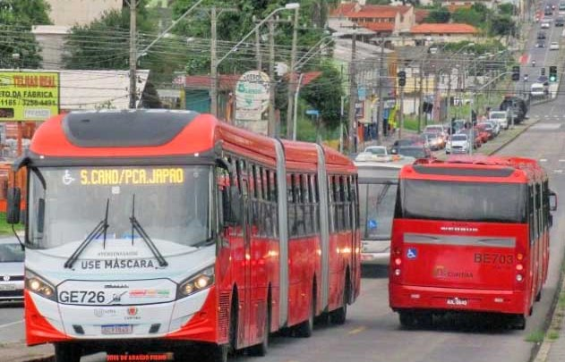 TCE-PR determina suspensão dos ônibus em Curitiba a partir deste sábado