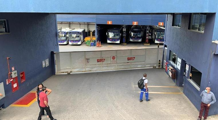 SP: Rodoviários fazem paralisação em São Bernardo do Campo nesta manhã. Acompanhe
