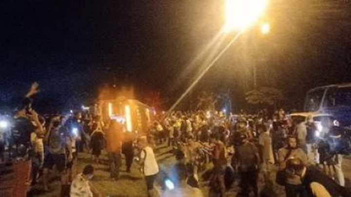 Cidade do Rio entra em estágio de atenção após tombamento de ônibus do BRT na Zona Oeste