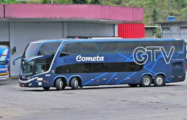 Viação Cometa segue com ônibus quase lotados neste domingo na Rio x Belo Horizonte