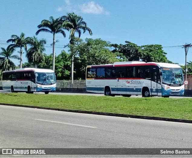 Solazer renova parte da frota com 10 novos ônibus Ideale 800 Mercedes-Benz