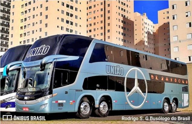 Expresso União deve renovar em breve com novos ônibus Marcopolo New G7 1800 DD