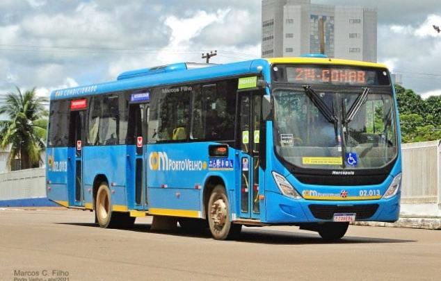 Porto Velho terá ônibus com tarifa zero até o final do mês de abril