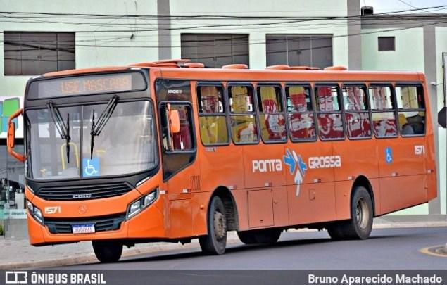 PR: TRT determina o retorno de 50% da frota de ônibus em Ponta Grossa, nesta sexta-feira