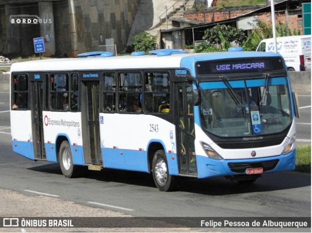 BA: Tarifas de ônibus metropolitanos serão reajustadas nesta terça-feira