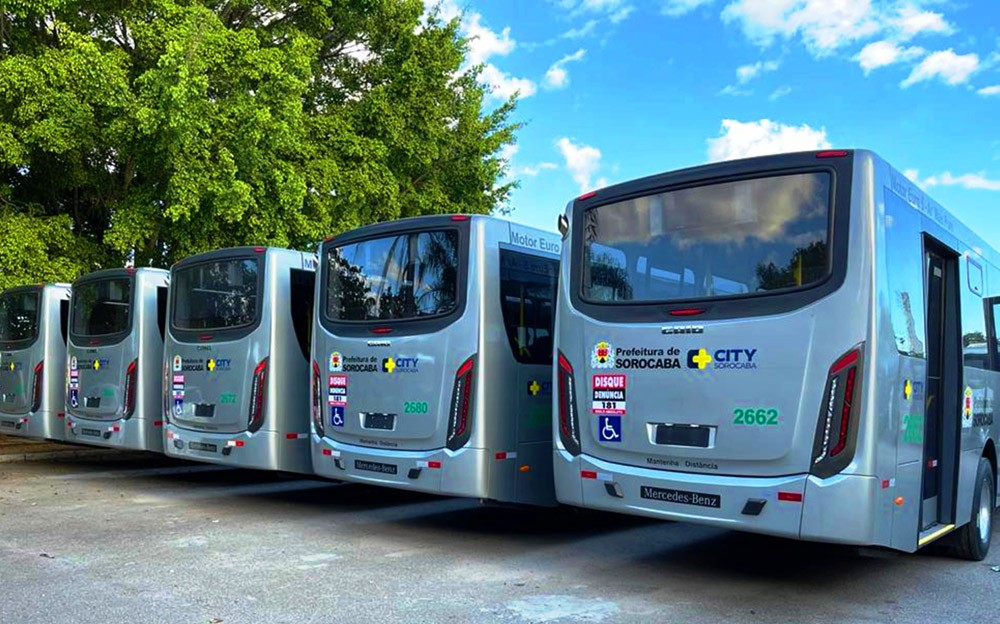 SP: City inicia operação em Sorocaba nesta sexta-feira com ônibus equipados com acesso a internet