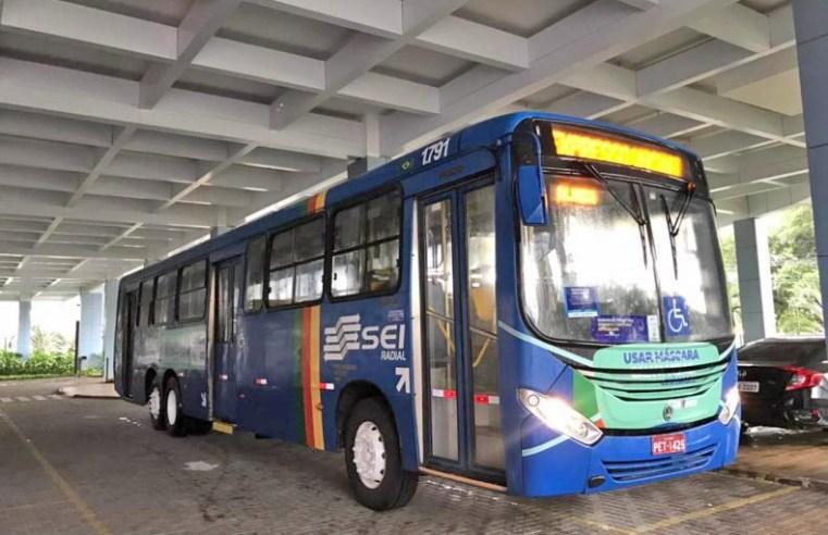 PE: Expresso Vacina Olinda visita garagens de ônibus para vacinar profissionais contra Covid-19